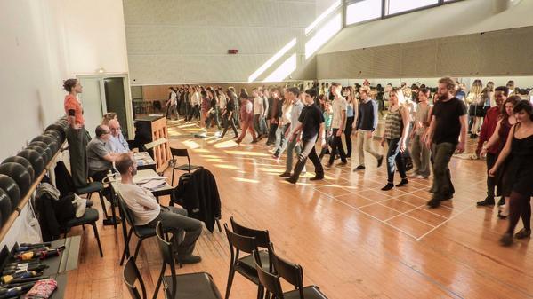 Opera Junior rehearsal for l'Enfant et les Sortilege